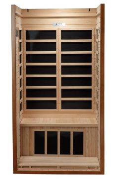DYNAMIC SAUNAS AMZ-DYN-6106-01 Barcelona 1 to 2-Person Far Infrared Picture