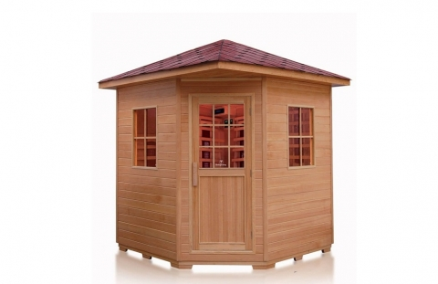 Review 4 Person Hemlock Wood Outdoor Infrared Sauna Review