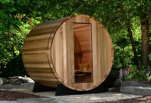 Almost Heaven Saunas Seneca 4-person Outdoor Steam Sauna Picture