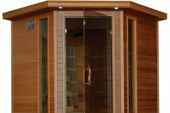 Radiant Saunas BSA 1320 Dark Woodgrain