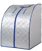Gizmo Supply 1000W Portable Therapeutic Infrared Sauna Spa XL Image