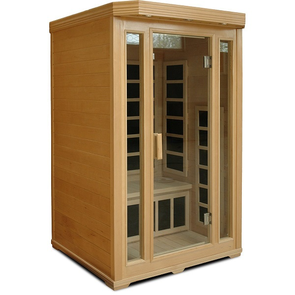 review crystal sauna bh200 2 person infrared sauna. Black Bedroom Furniture Sets. Home Design Ideas