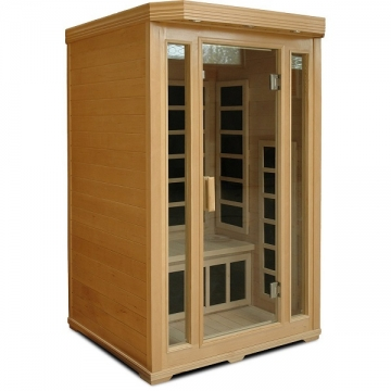 Crystal Sauna BH200 2-Person Infrared Sauna Picture
