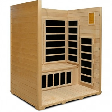 Crystal Sauna BH300 3-Person Infrared Sauna Picture