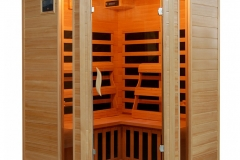 HeatWave Santa Fe SA2412DX 3 Person Corner Hemlock Infrared Sauna Review