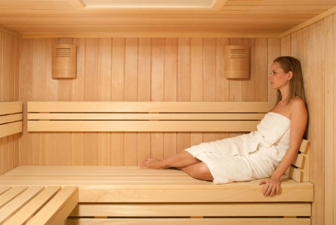 How to Use a Sauna Picture