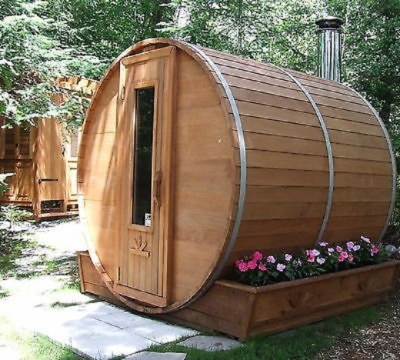 NLCT Outdoor Barrel Sauna Kit Picture