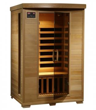 Radiant Saunas BSA2409 2 Person Hemlock Infrared Picture