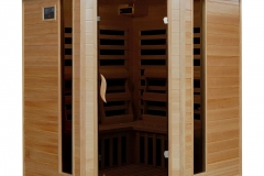 4-Person Hemlock Infrared Corner Radiant Saunas BSA2420 Review