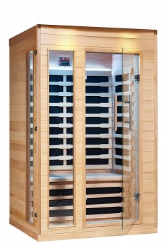 Royal Saunas 2 Persons Far Infrared Hemlock Saunas Picture