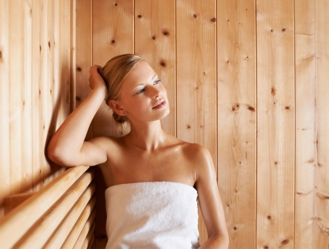 Royal Saunas 2 Persons Far Infrared Hemlock Saunas Picture 3