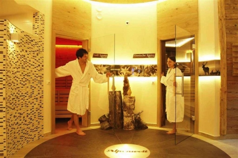 Sauna vs Steam Room Picture