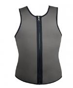 ValentinA Slimming Neoprene Vest Hot Sweat Shirt Body Shapers for Weight Loss Mens