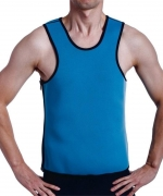 NINGMI Neoprene Slimming Vest Sweat Sauna Suits Gym Mens Weight Loss Shapewear
