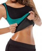 HelloTem Women Shapewear Weight Loss Neoprene Sauna Tank Top Vest