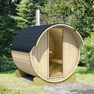 Allwood barrel sauna