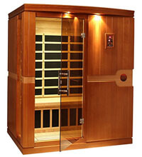 DYNAMIC SAUNAS AMZ-DYN-6310-01 Madrid 3-Person Image