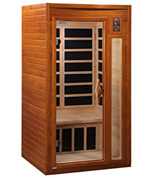 DYNAMIC SAUNAS AMZ-DYN-6106-01 Barcelona 1-2 Person Far Infrared Sauna