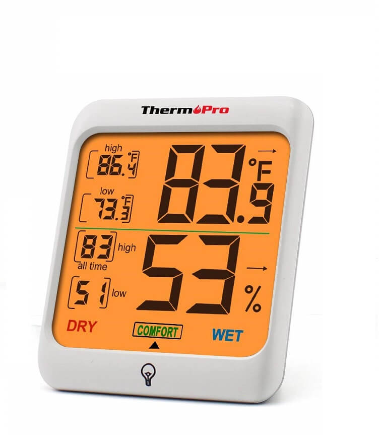 Best 6 Sauna Thermometers Picture